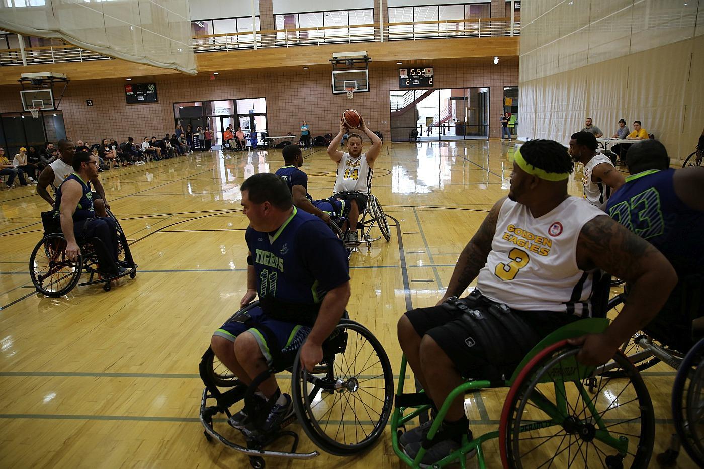 IDS sponsors the USM Wheelchair Basketball Team.