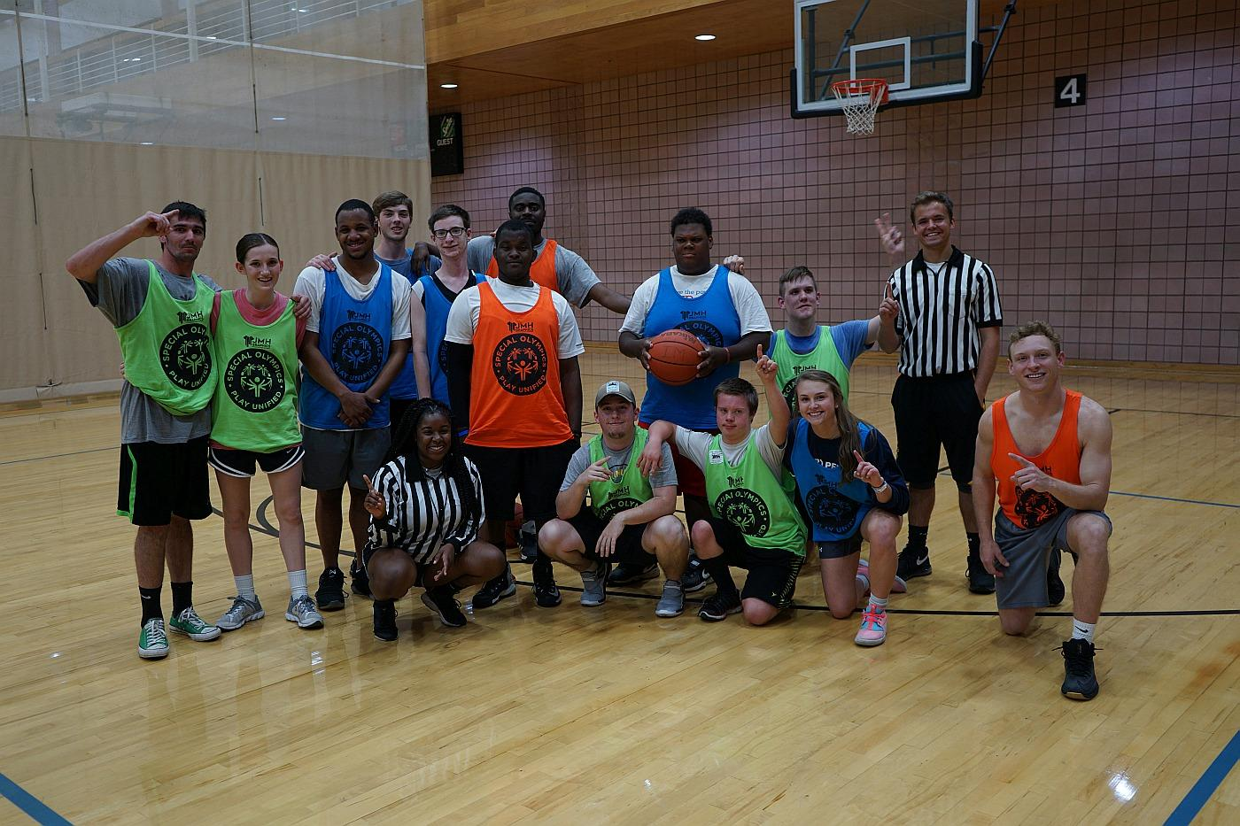 IDS sponsors inclusive basketball.