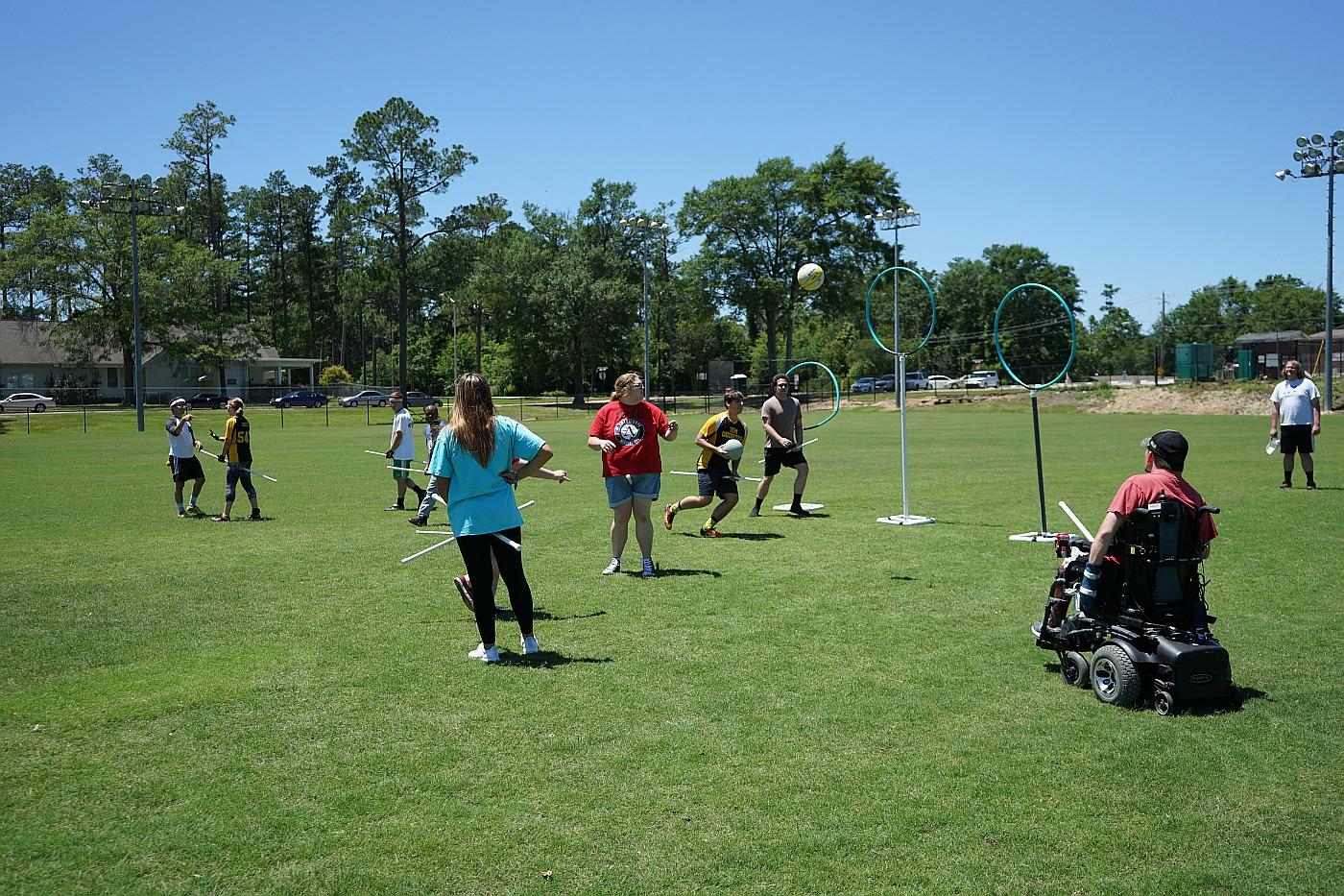 Transition to Adulthood program sponsors Quidditch