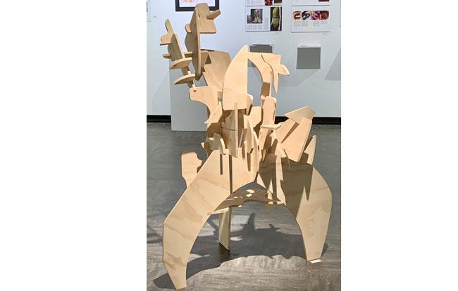 "2nd ""Wood Sculpture - Invasive Species"" – Jonathan Ambion"
