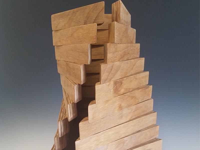 "Jonathan Ambion, ""Control,"" Sculpture"