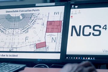 computer screens at NCS4