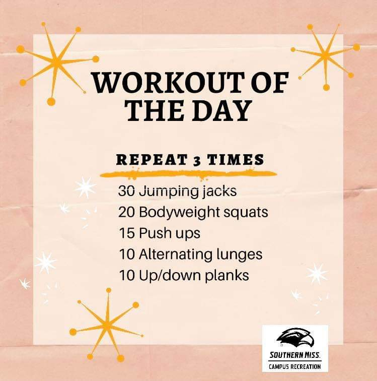 Workout of the Day - 6