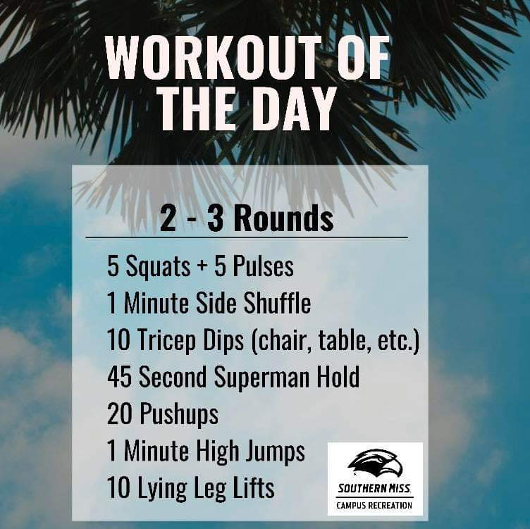 Workout of the Day - 7