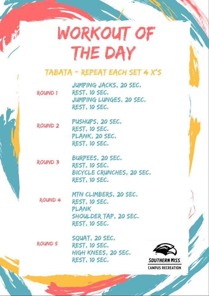 Workout of the Day - 8