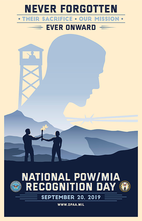 National POW/MIA Recongnition Day Poster 2019