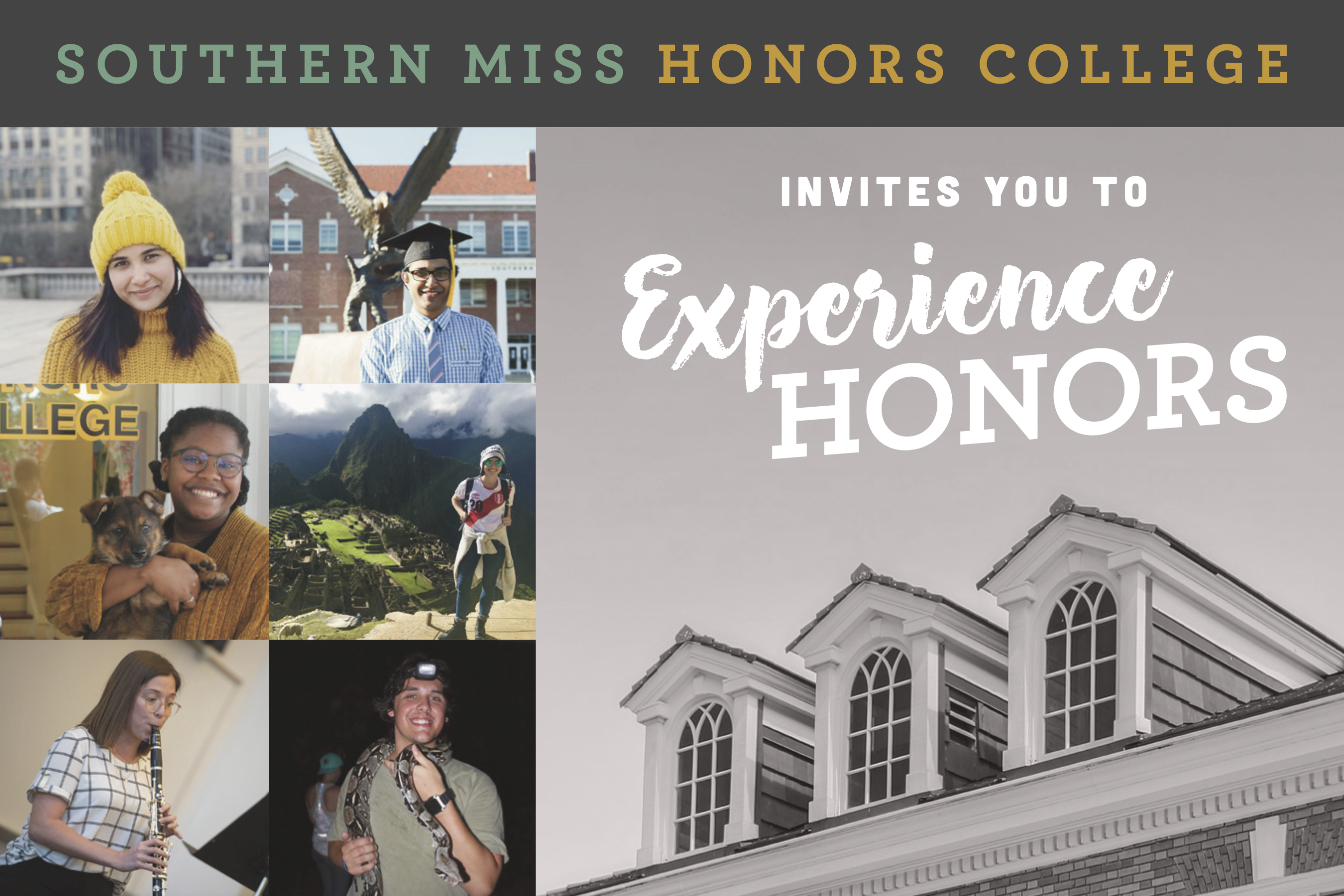Experience Honors Header