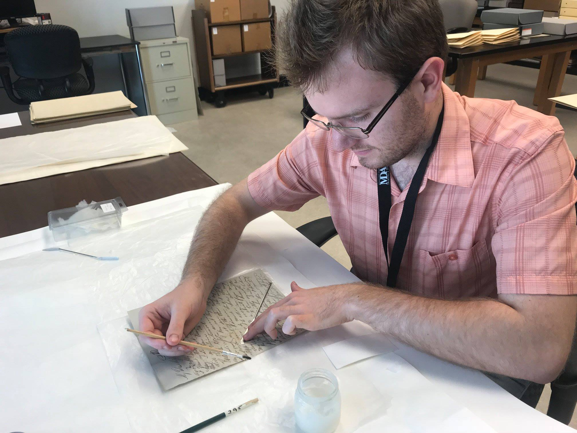 USM Public History Intern at Mississippi Deppartment of Archives and History
