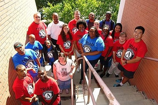 TRIAD Americorps Group Photo