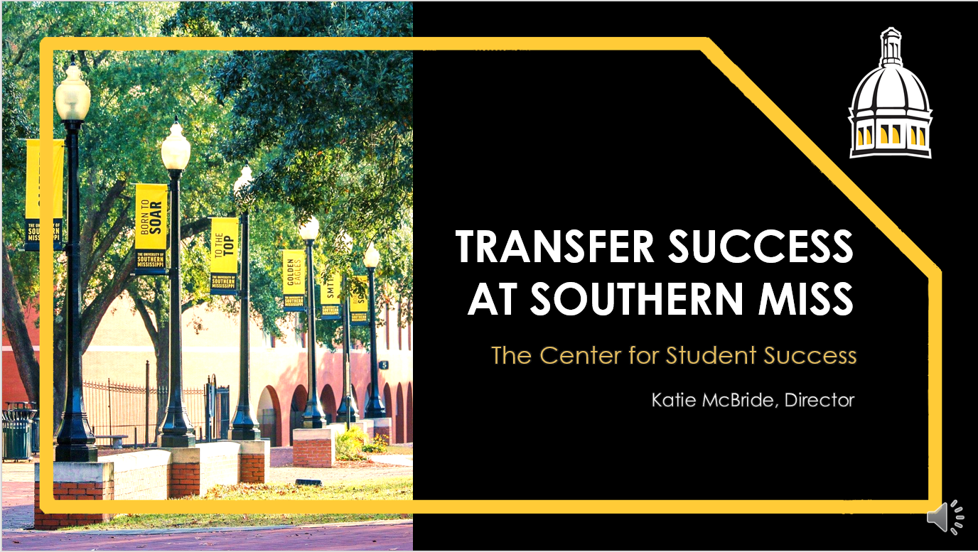 Center for Student Success - Transfers