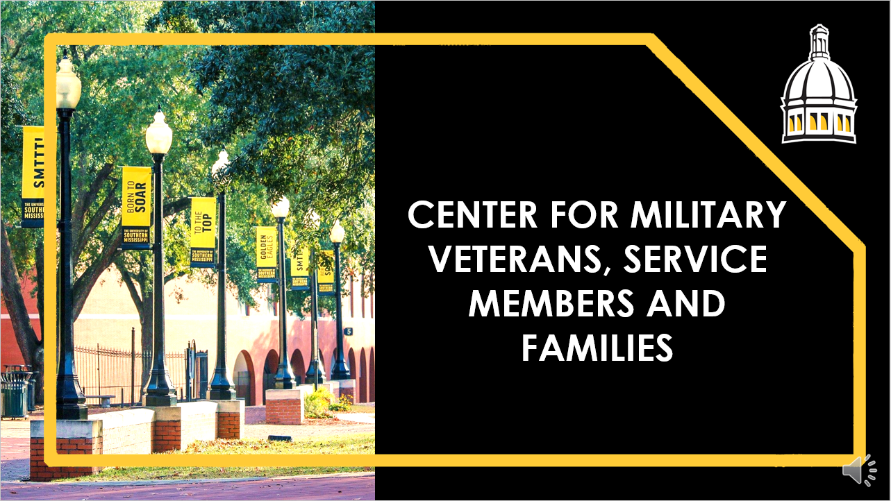 Center for Military Veterans, Service Members and Families