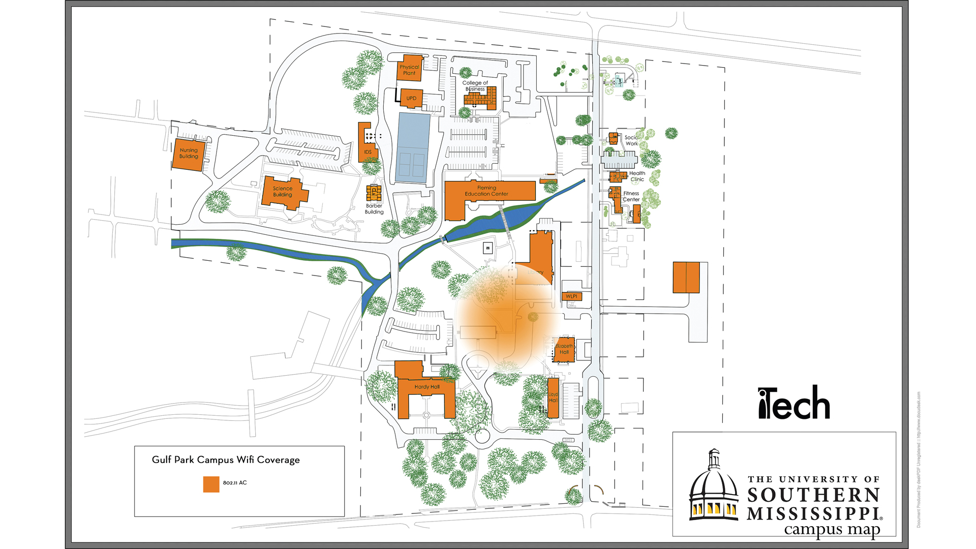 usm gulf coast campus map For Students With Limited Internet Services Itech The usm gulf coast campus map