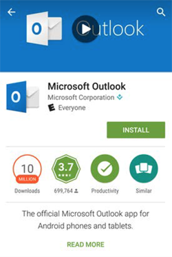 Download Microsoft Outlook app