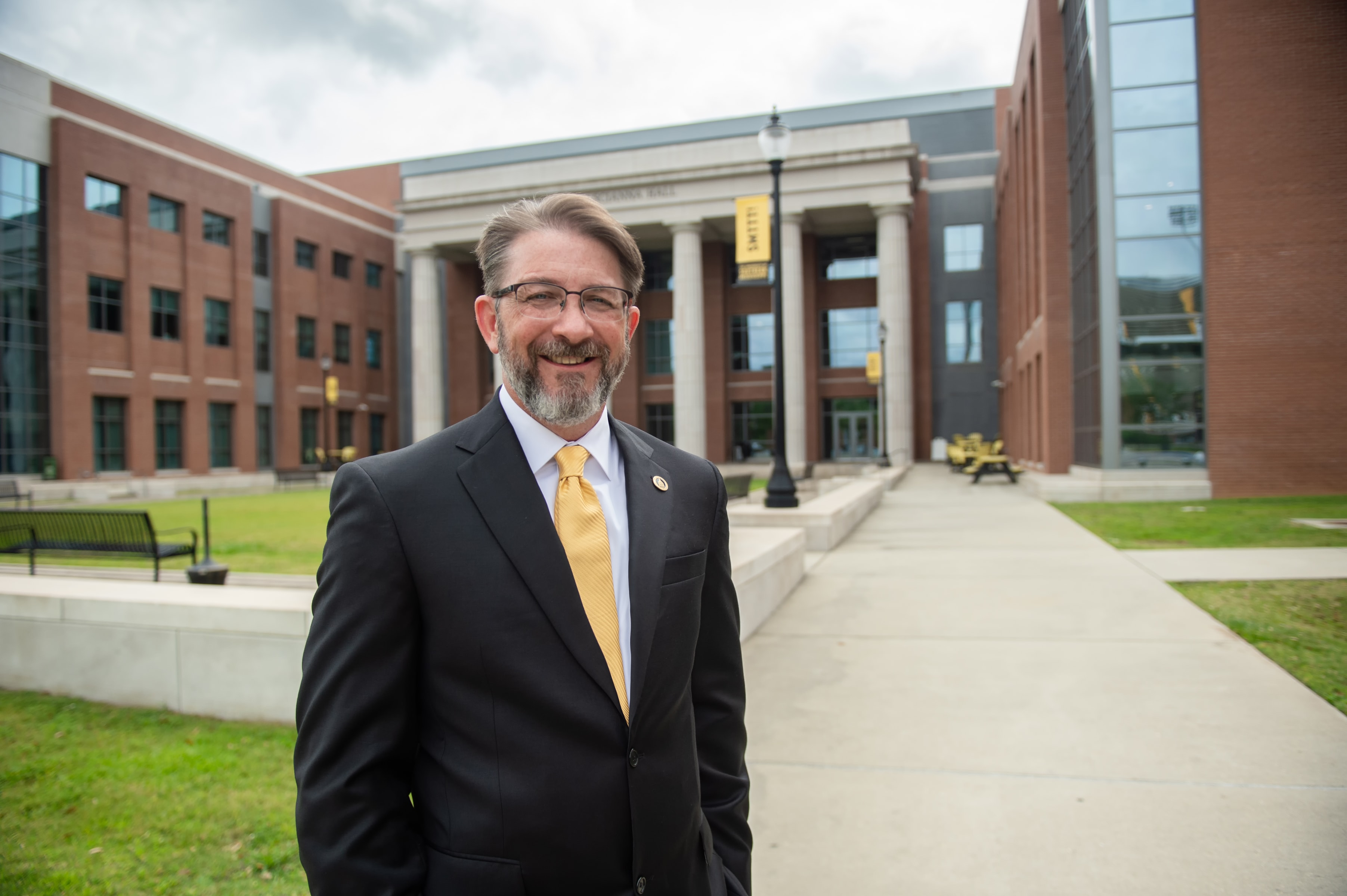 Dr. Bret Becton, Dean of the College of Business and Economic Development