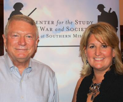"Retired Maj. Gen. Buford ""Buff"" Blount and Southern Miss History Professor Susannah Ural"