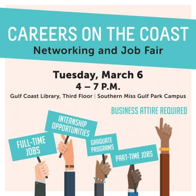 Careers on the Coast Job Fair to be Held at Southern Miss