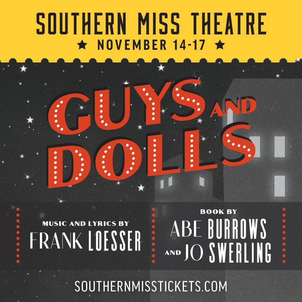 Southern Miss Theatre presents Guys and Dolls