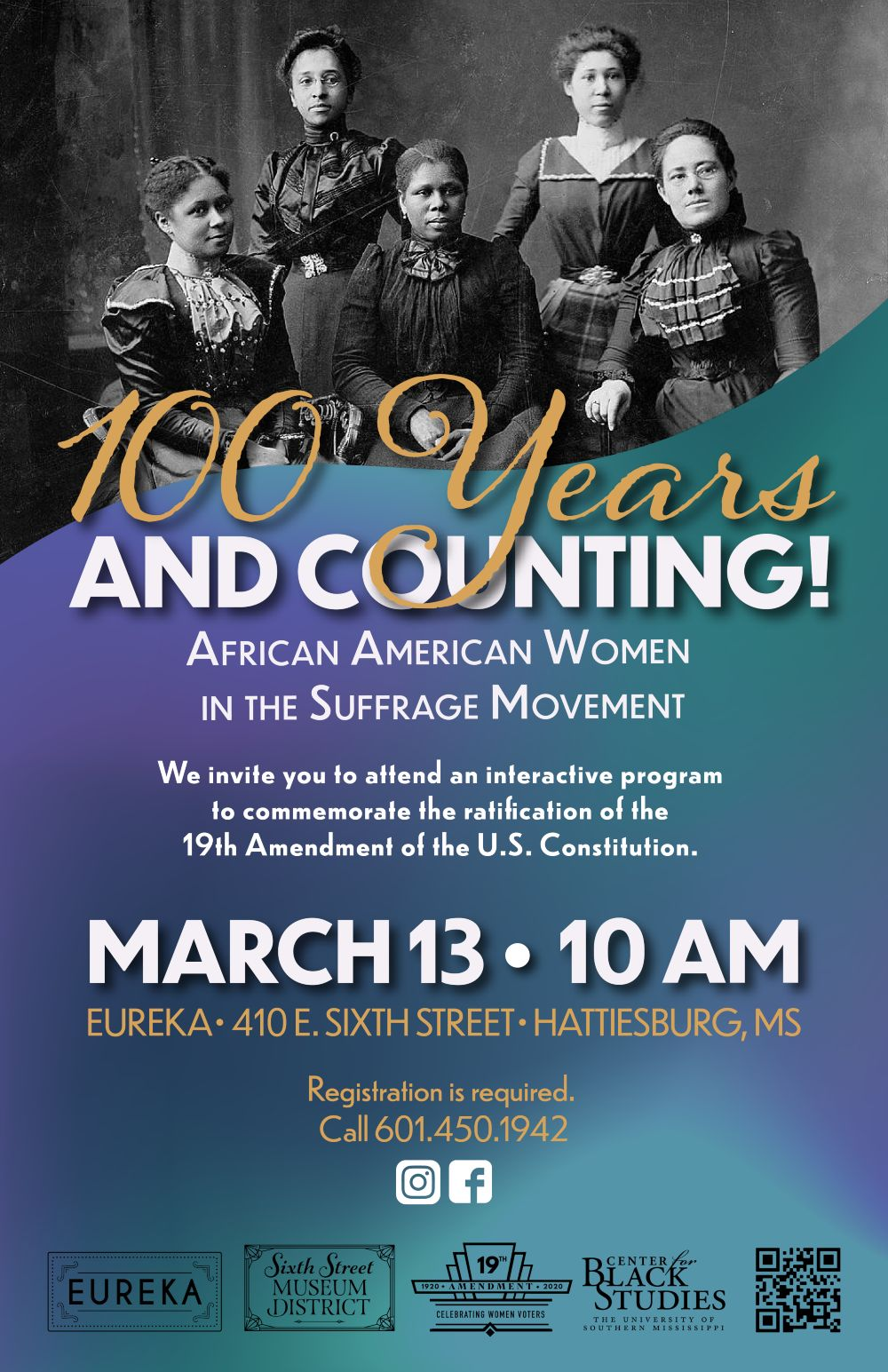 100 years and counting - March 13 at 10 AM - Eureka School