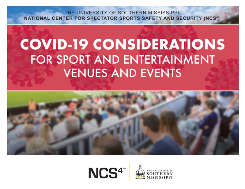 The COVID-19 Considerations for Sport and Entertainment Venues and Events guide