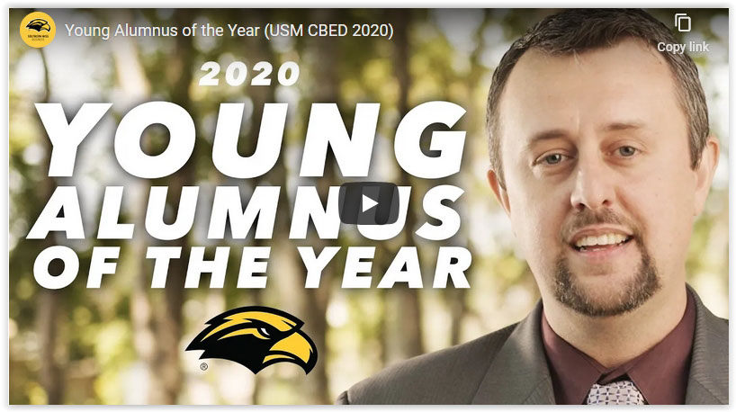 2020 Young Alumnus of the Year