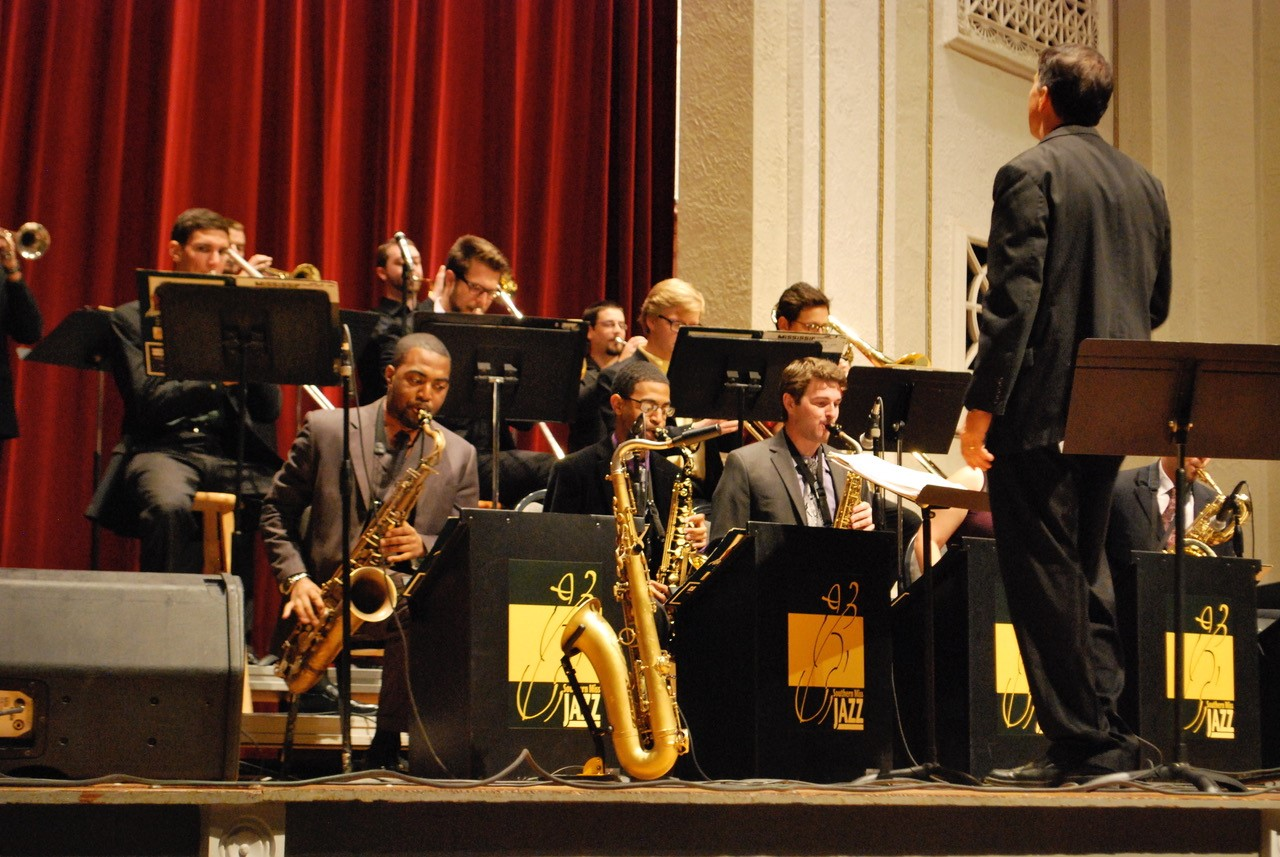 Jazz Lab Band on stage