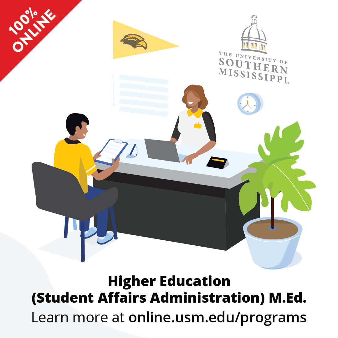 Higher Education (Student Affairs Administration) M.Ed. 100% Online