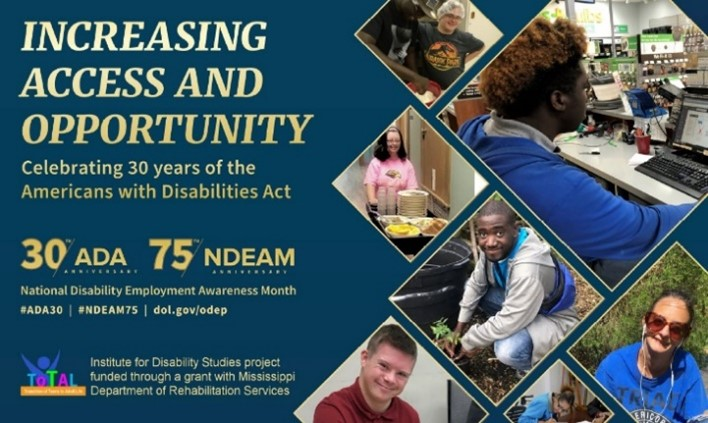 Increasing access and opportunity: Celebrating 30 years of the Americans with Disabilities Act