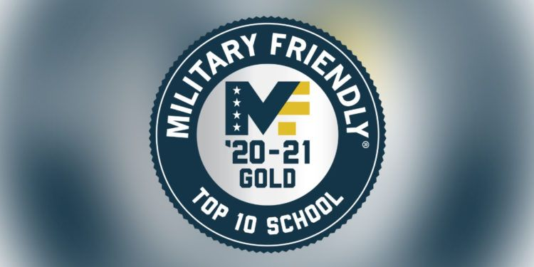 Military Friendly: Top 10 School