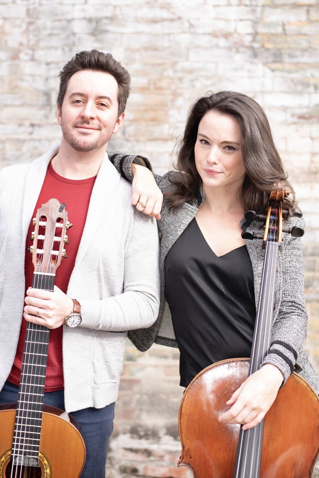 Kimberly Patterson, cello, and Patrick Sutton, guitar