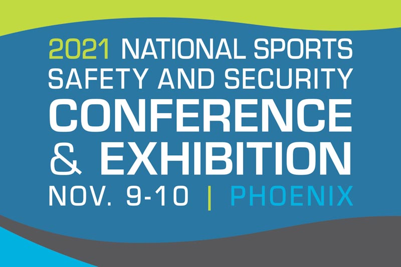 12th Annual National Sports Safety and Security Conference & Exhibition will be held on Nov. 9-10 at the JW Marriott Desert Ridge Resort & Spa in Phoenix