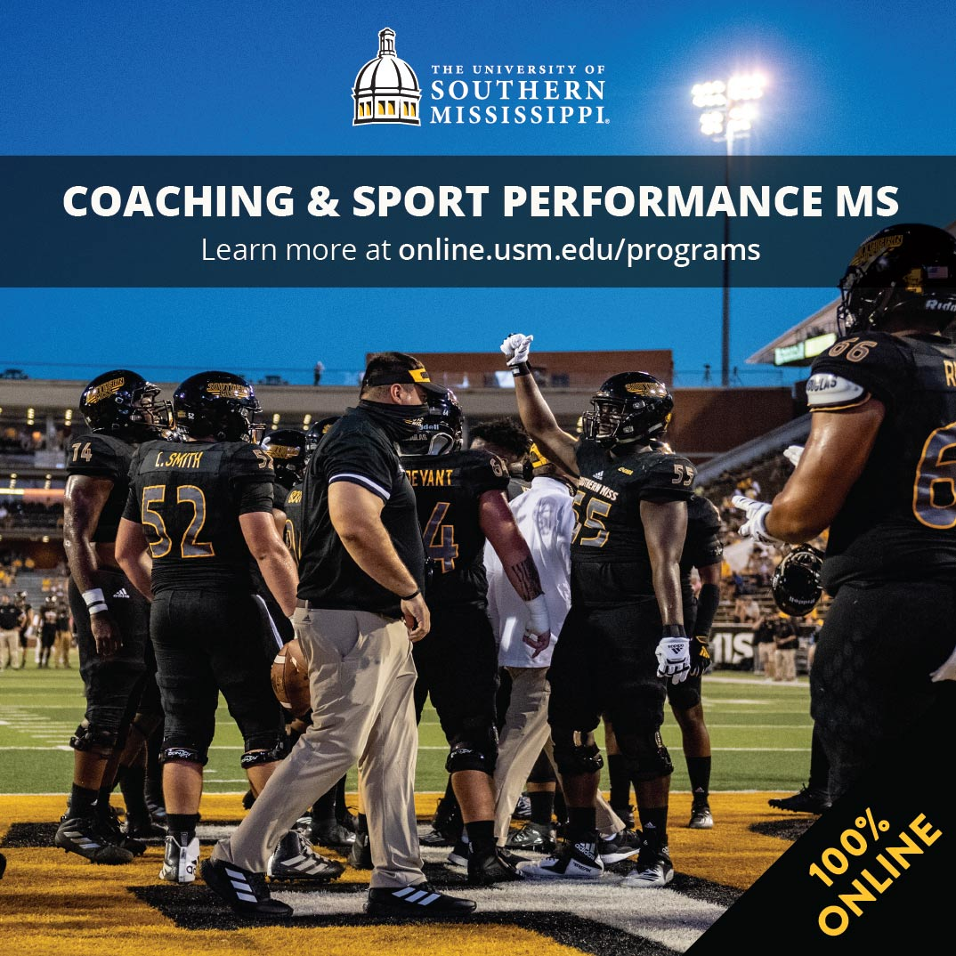 Coaching and Sport Performance MS 100% online