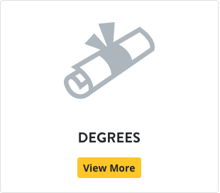 A picture of a diploma and the word degrees