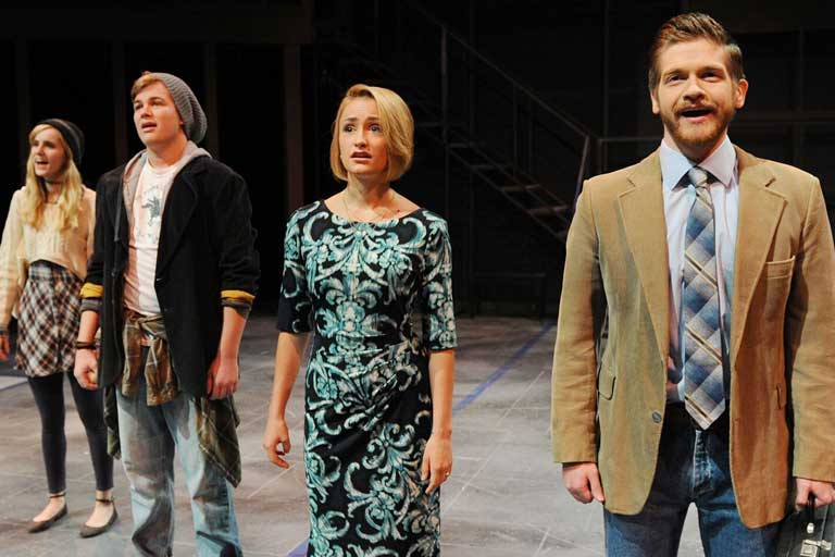 Photo of Students Performing Next to Normal