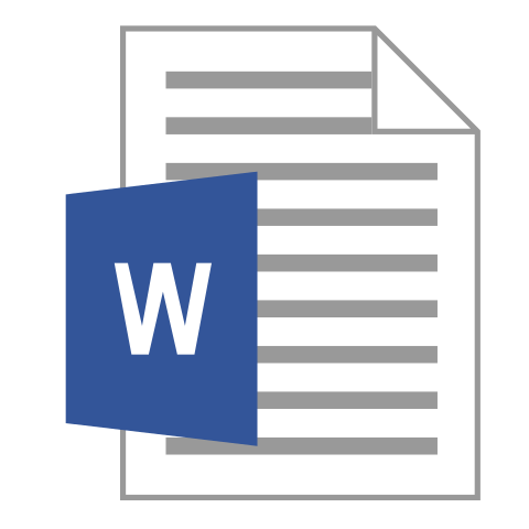 Open a MS Word Document