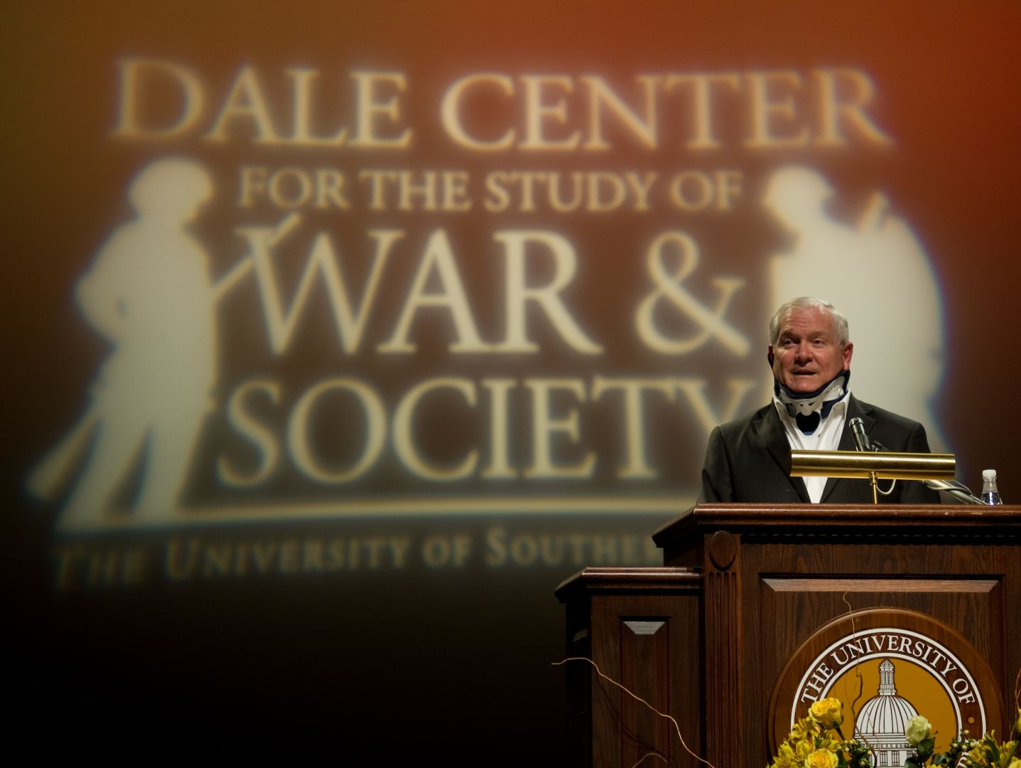 Robert Gates at Southern Miss Dale Lecture
