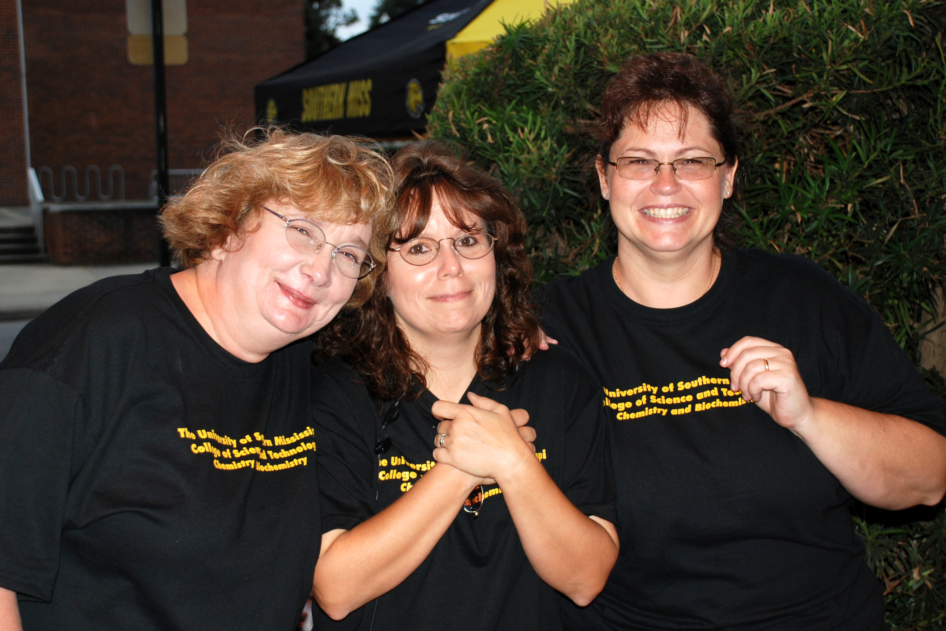 photograph of Debbie, Sharon, and Tina