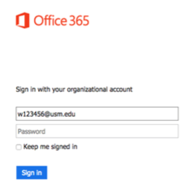Step 1 - Log into Outlook Web Access portal