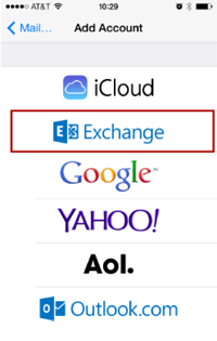 Step 8 - Select Exchange