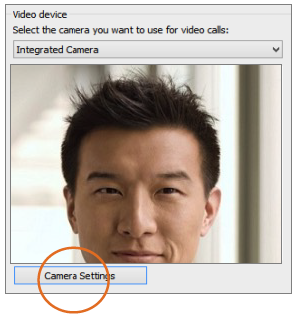 Set up your video device
