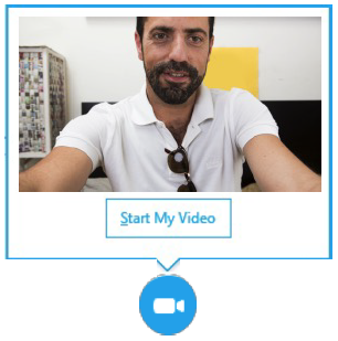 Add video to IM conversation