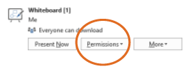 Manage permissions