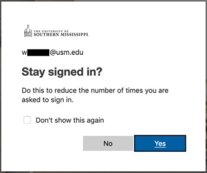 Reduce the number of times you are asked to sign in