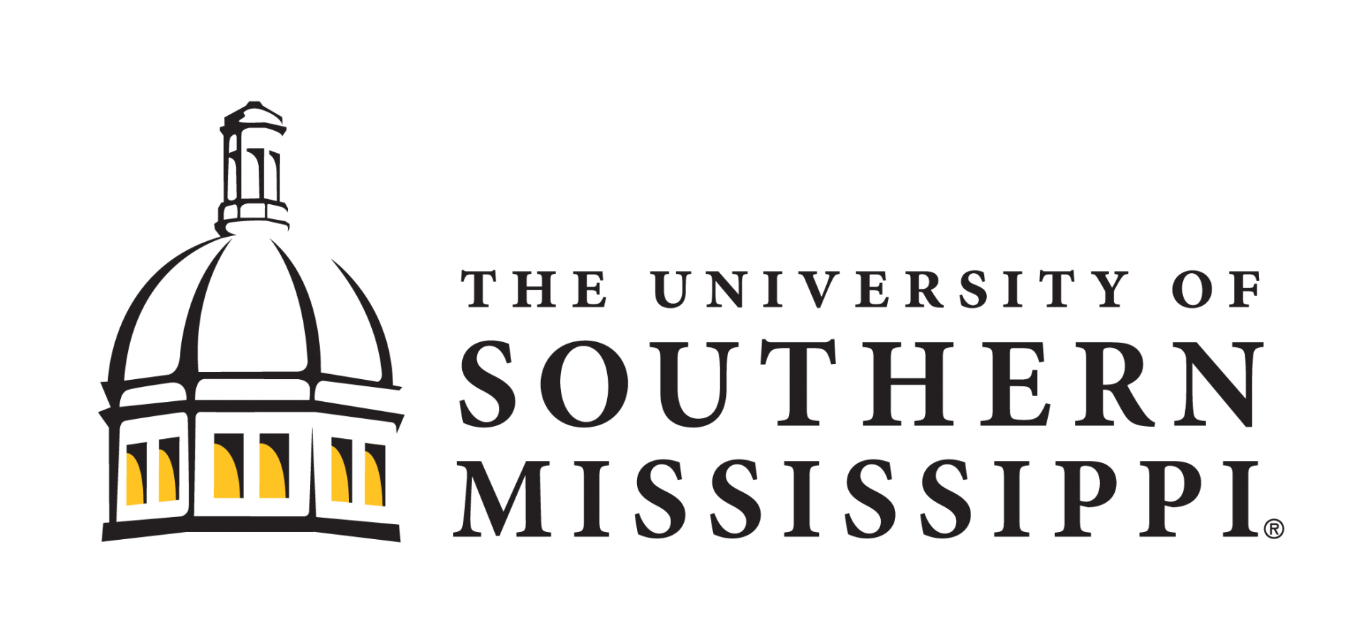 Compact logo for The University of Southern Mississippi