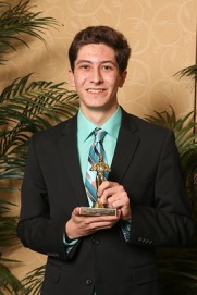 Grant Chighizola, winner of Best Sports Story
