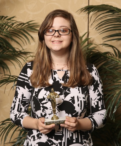 Marissa Haas, winner of Best Public Relations Writing