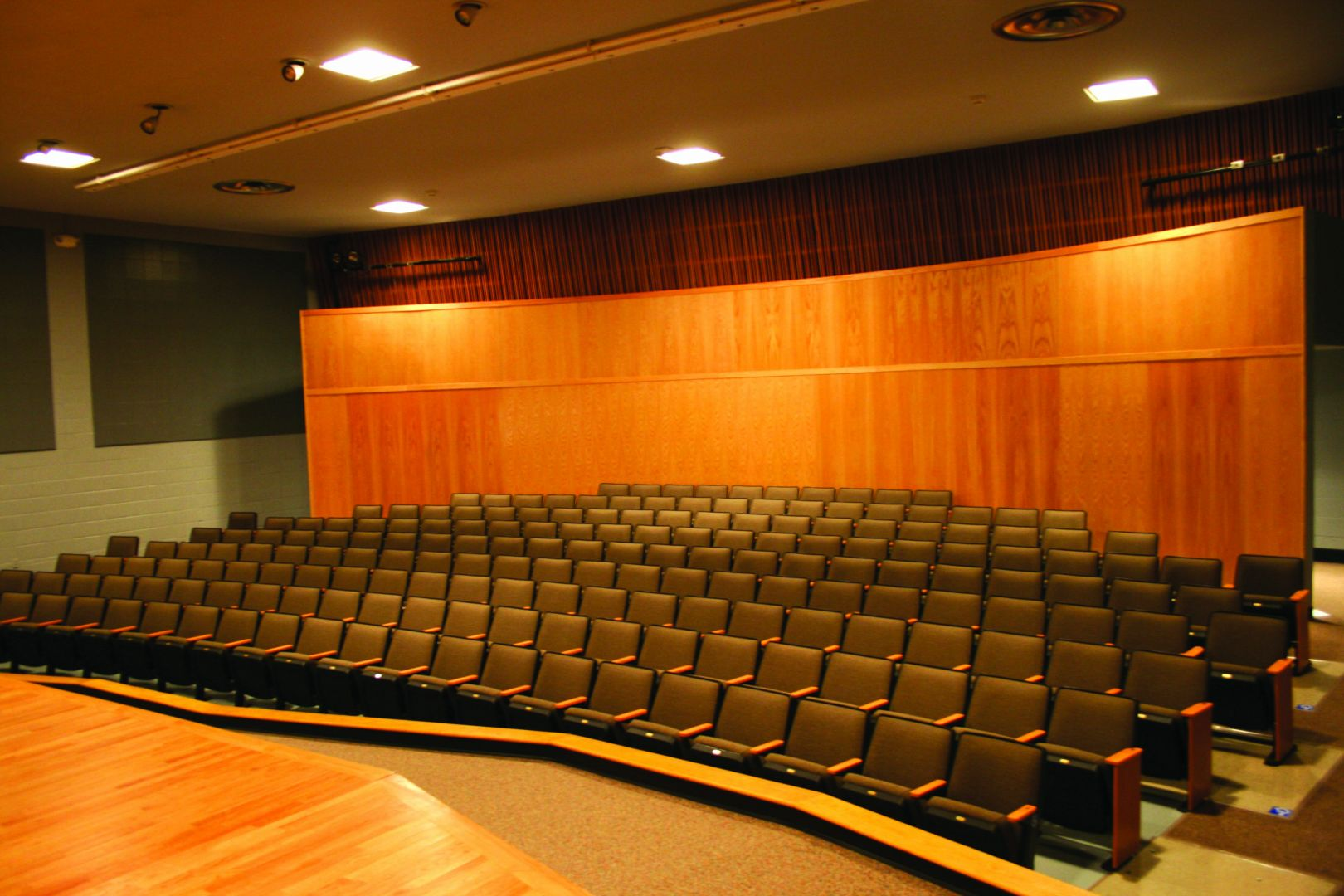 Marsh Auditorium updated