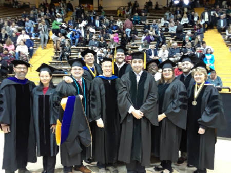 December 2017 Graduates and advisors