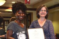 Shalonda Collins - Best Graduate Paper in Anthropology