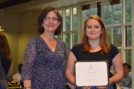 Sara Banks - Anthropology and Sociology Service Award