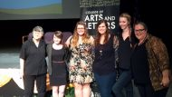 2013 graduates at the Arts and Letters Awards Day